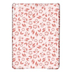 Red Seamless Floral Pattern iPad Air Hardshell Cases