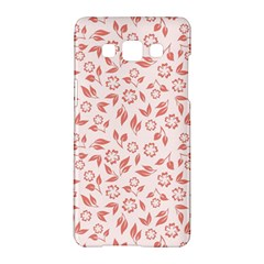 Red Seamless Floral Pattern Samsung Galaxy A5 Hardshell Case