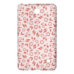 Red Seamless Floral Pattern Samsung Galaxy Tab 4 (8 ) Hardshell Case