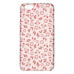 Red Seamless Floral Pattern iPhone 6 Plus/6S Plus TPU Case