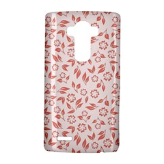 Red Seamless Floral Pattern Lg G4 Hardshell Case