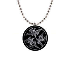 Morrigan Necklace Button Necklace