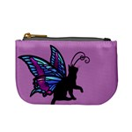Kitty Wings Coin Change Purse Front