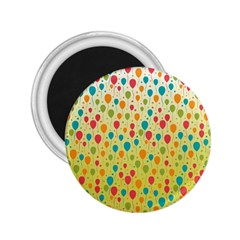 Colorful Balloons Backlground 2.25  Magnets
