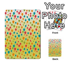 Colorful Balloons Backlground Multi-purpose Cards (Rectangle)