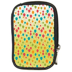 Colorful Balloons Backlground Compact Camera Cases