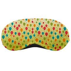 Colorful Balloons Backlground Sleeping Masks