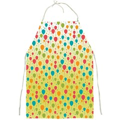 Colorful Balloons Backlground Full Print Aprons