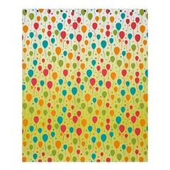 Colorful Balloons Backlground Shower Curtain 60  x 72  (Medium)