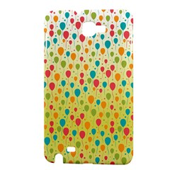 Colorful Balloons Backlground Samsung Galaxy Note 1 Hardshell Case