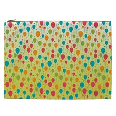 Colorful Balloons Backlground Cosmetic Bag (XXL)