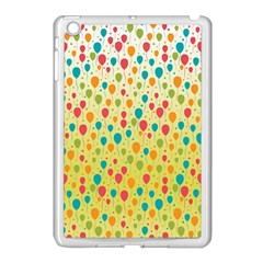 Colorful Balloons Backlground Apple iPad Mini Case (White)