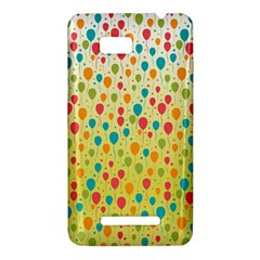 Colorful Balloons Backlground HTC One SU T528W Hardshell Case