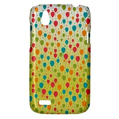 Colorful Balloons Backlground HTC Desire V (T328W) Hardshell Case