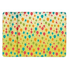Colorful Balloons Backlground Samsung Galaxy Tab 10.1  P7500 Flip Case