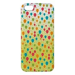 Colorful Balloons Backlground iPhone 5S/ SE Premium Hardshell Case