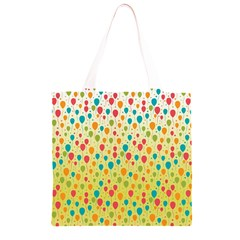 Colorful Balloons Backlground Grocery Light Tote Bag