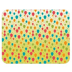 Colorful Balloons Backlground Double Sided Flano Blanket (Medium)