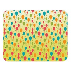 Colorful Balloons Backlground Double Sided Flano Blanket (Large)