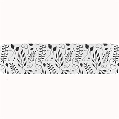 Hand Painted Floral Pattern Large Bar Mats