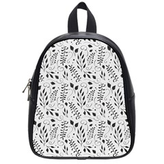 Hand Painted Floral Pattern School Bags (Small)