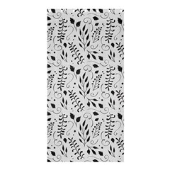 Hand Painted Floral Pattern Shower Curtain 36  x 72  (Stall)