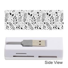 Hand Painted Floral Pattern Memory Card Reader (stick)