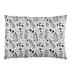 Hand Painted Floral Pattern Pillow Case (two Sides)