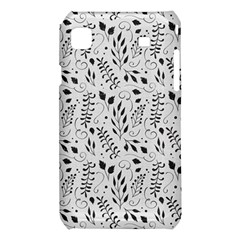 Hand Painted Floral Pattern Samsung Galaxy S i9008 Hardshell Case