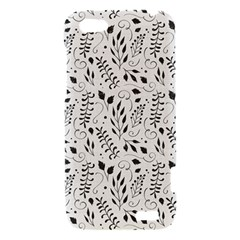Hand Painted Floral Pattern HTC One V Hardshell Case