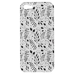 Hand Painted Floral Pattern Apple iPhone 5 Hardshell Case