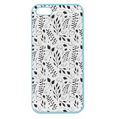 Hand Painted Floral Pattern Apple Seamless iPhone 5 Case (Color)