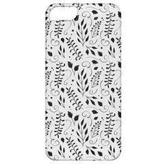 Hand Painted Floral Pattern Apple iPhone 5 Classic Hardshell Case