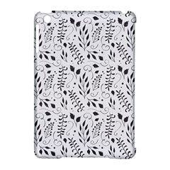 Hand Painted Floral Pattern Apple iPad Mini Hardshell Case (Compatible with Smart Cover)