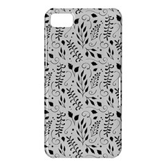Hand Painted Floral Pattern BlackBerry Z10