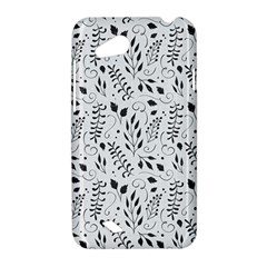 Hand Painted Floral Pattern HTC Desire VC (T328D) Hardshell Case