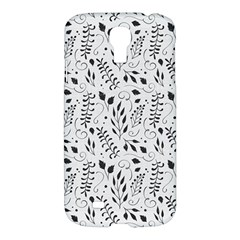 Hand Painted Floral Pattern Samsung Galaxy S4 I9500/I9505 Hardshell Case