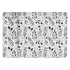 Hand Painted Floral Pattern Samsung Galaxy Tab 10 1  P7500 Flip Case