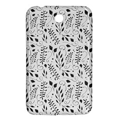 Hand Painted Floral Pattern Samsung Galaxy Tab 3 (7 ) P3200 Hardshell Case