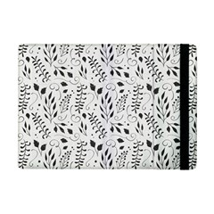 Hand Painted Floral Pattern iPad Mini 2 Flip Cases