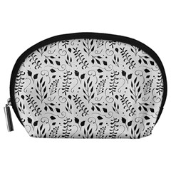 Hand Painted Floral Pattern Accessory Pouches (Large)