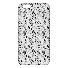 Hand Painted Floral Pattern Iphone 6 Plus/6s Plus Tpu Case