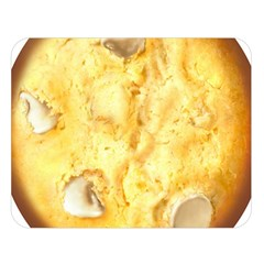 White Chocolate Chip Lemon Cookie Novelty Double Sided Flano Blanket (large)