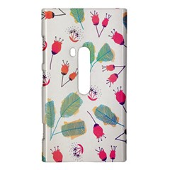 Hand Drawn Flowers Background Nokia Lumia 920