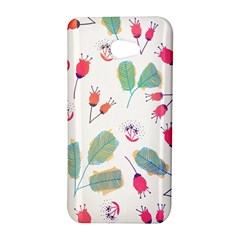 Hand Drawn Flowers Background HTC Butterfly S/HTC 9060 Hardshell Case