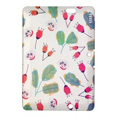 Hand Drawn Flowers Background Kindle Fire HDX 8.9  Hardshell Case