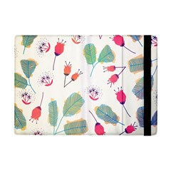 Hand Drawn Flowers Background iPad Mini 2 Flip Cases