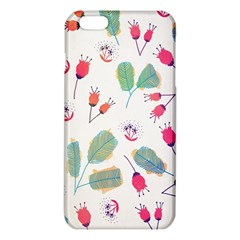 Hand Drawn Flowers Background iPhone 6 Plus/6S Plus TPU Case