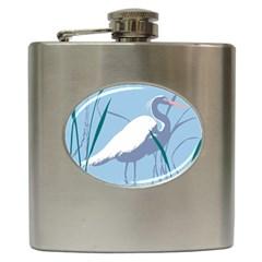 Egret Hip Flask (6 Oz)