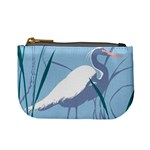 Egret Mini Coin Purses Front